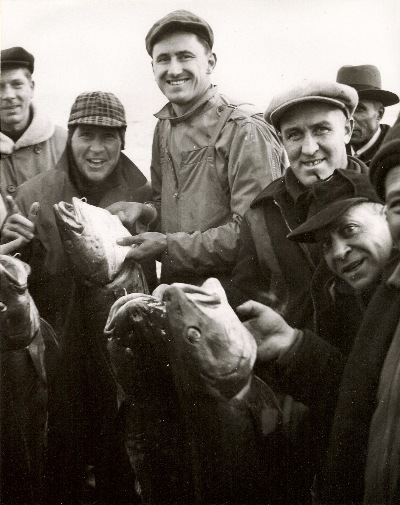 Walter, Frank and Joe with local Cod catch!